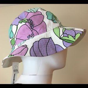 Ann Taylor LOFT Women's Floral Summer Cotton Hat